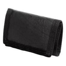 Green Guru Tri-Fold Wallet - Recycled Bike Tubes in Black - Closeouts