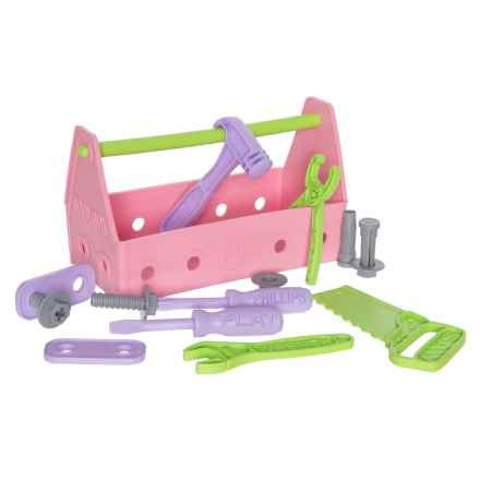Green Toys Tool Set - 15-Piece in Pink - Closeouts