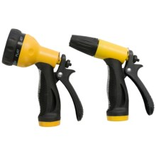 Greenfield Gardens Garden Hose Nozzle - Combo Pack in Yellow/Black - Closeouts