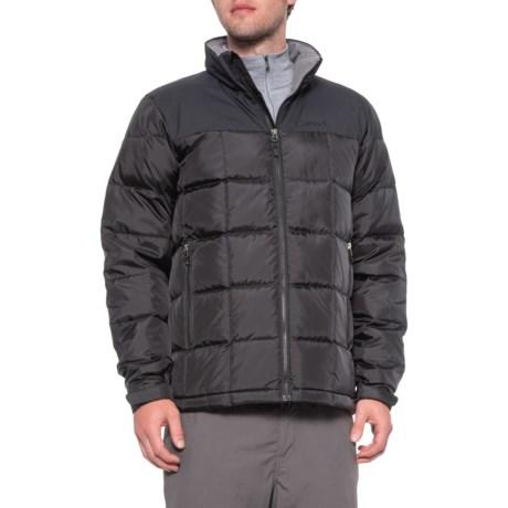 Greenridge Down Jacket - 600 Fill Power (For Men) - BLACK (XL )