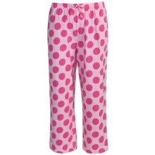 Greetings From Polka-Dot Capris (For Women) in Polka Dot Pink - Closeouts