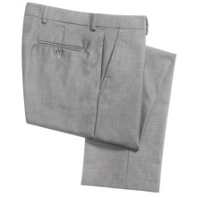 Greg Norman Luxe Collection Dress Pants (For Men) in Light Grey - Closeouts