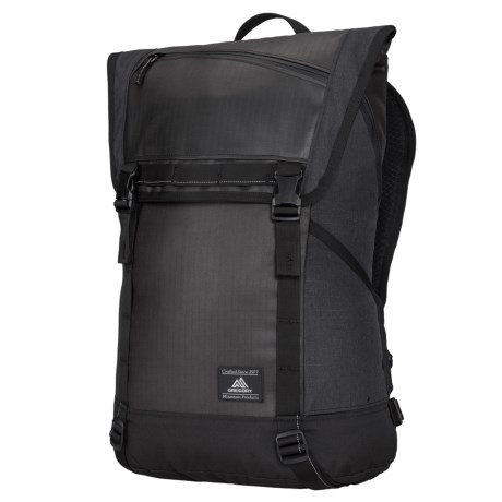 Gregory 20L Avenues Pierpont Backpack in Asphalt Black 9b9522988c36d