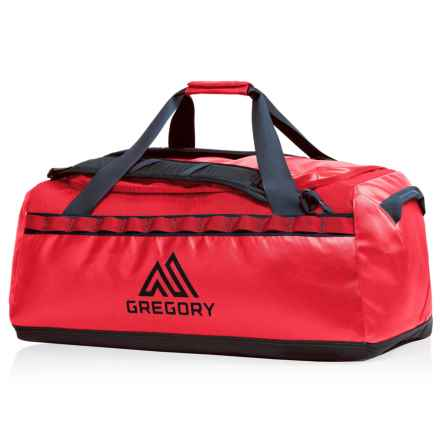 Gregory Alpaca 30L Duffel Bag in Flame Red - Closeouts