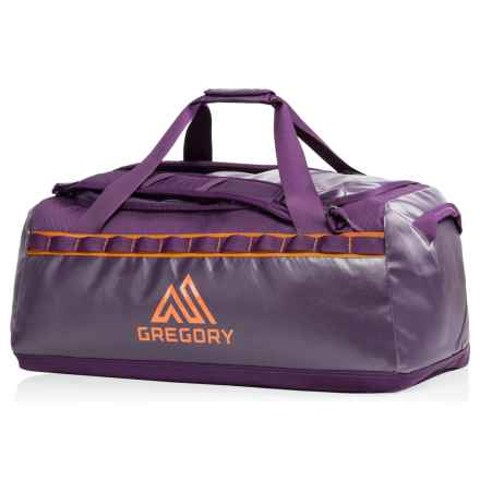Gregory Alpaca 45L Duffel Bag in Eggplant Purple - Closeouts