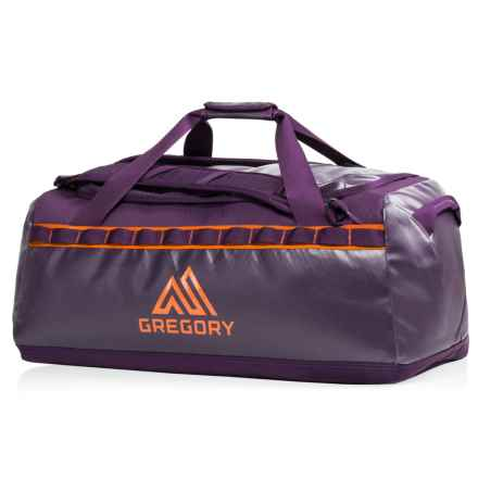 Gregory Alpaca 60L Duffel Bag in Eggplant Purple - Closeouts