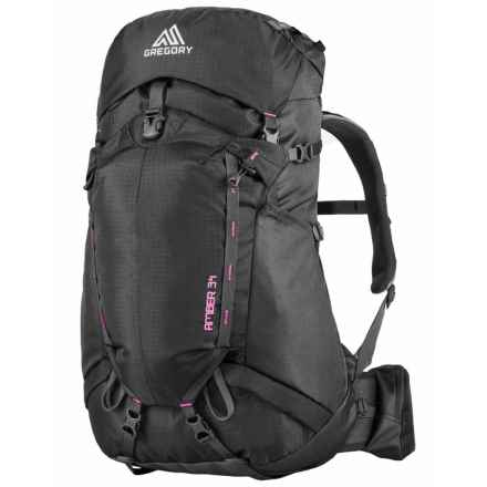 Gregory Amber 34 Backpack - Internal Frame (For Women) in Shadow Black/Berry - Closeouts