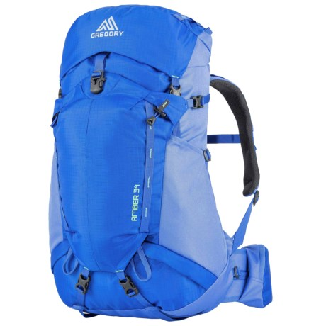 Gregory Amber 34 Backpack - Internal Frame (For Women) in Sky Blue