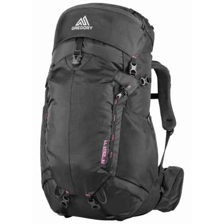 Gregory Amber 44 Backpack - Internal Frame (For Women) in Shadow Black/Berry - Closeouts