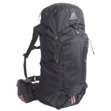 Gregory Amber 60 Backpack - Internal Frame (For Women) in Shadow Black - Closeouts