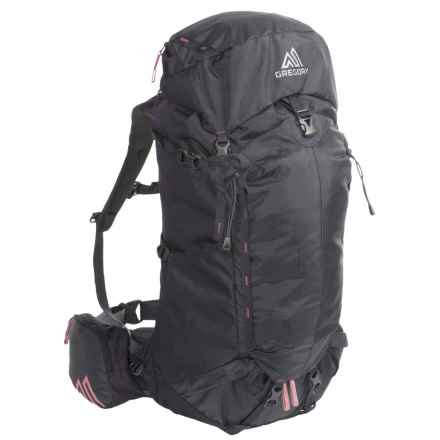 Gregory Amber 70 Backpack - Internal Frame (For Women) in Shadow Black - Closeouts