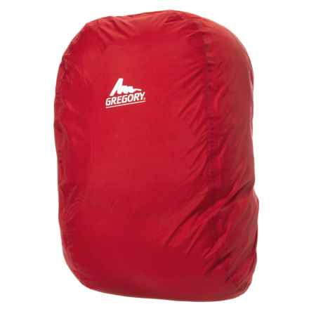 Gregory Backpack Rain Cover - 30L in Red - Closeouts