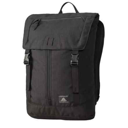 Gregory Baffin Backpack in Ebony Black - Closeouts