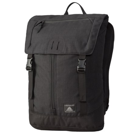 Gregory Baffin Backpack in Ebony Black