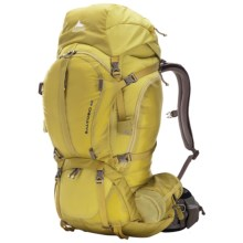 Gregory Baltoro 65 Backpack - Internal Frame in Electric Yellow - Closeouts