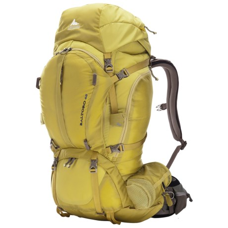 Gregory Baltoro 65 Backpack - Internal Frame in Electric Yellow