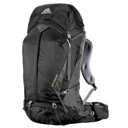 Gregory Baltoro 65L Backpack - Internal Frame in Shadow Black - Closeouts