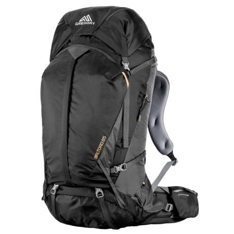 Gregory Baltoro 65L Backpack - Internal Frame in Shadow Black