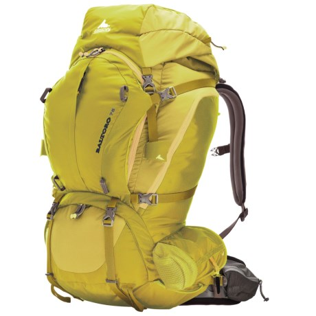 Gregory Baltoro 75 Backpack - Internal Frame in Electric Yellow