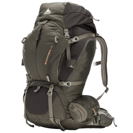 Gregory Baltoro 75 Backpack - Internal Frame in Iron Gray
