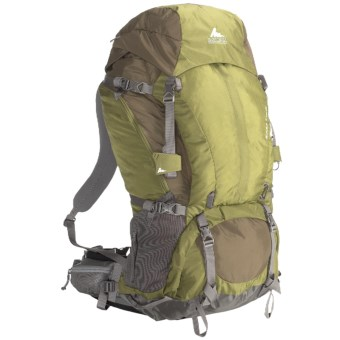 Gregory Baltoro 75 Backpack - Internal Frame in Moss Green