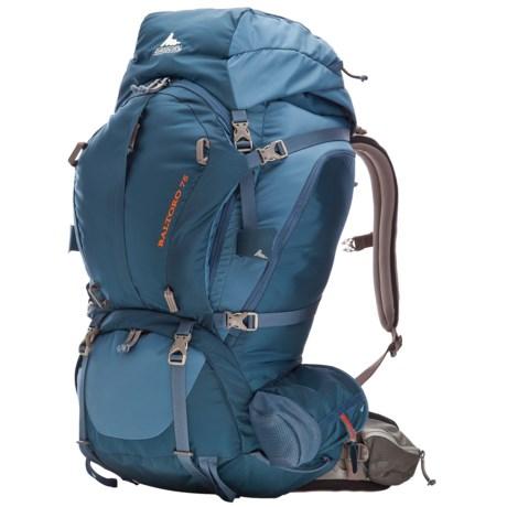 Gregory Baltoro 75 Backpack - Internal Frame in Prussian Blue