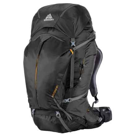 Gregory Baltoro 85L Backpack - Internal Frame in Shadow Black - Closeouts