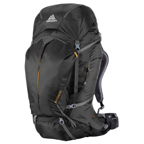 Gregory Baltoro 85L Backpack - Internal Frame in Shadow Black