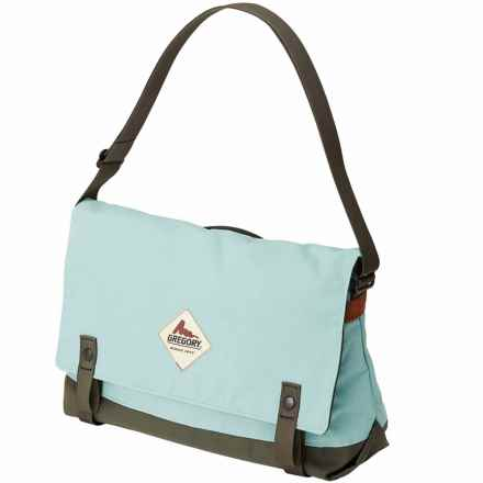 Gregory Boardwalk Messenger Bag in Sax Blue - Closeouts