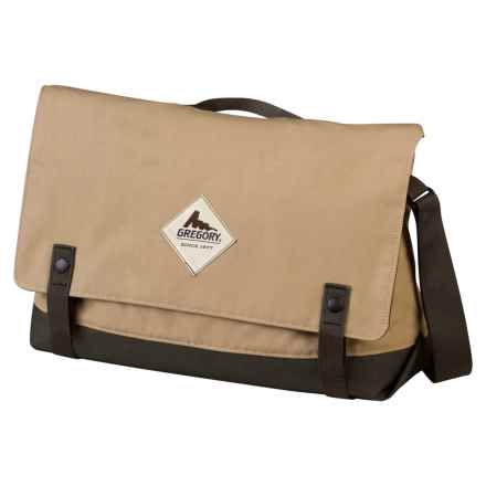 Gregory Boardwalk Messenger Bag in Tan - Closeouts