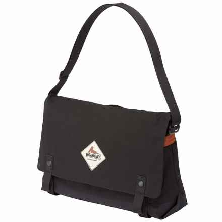 Gregory Boardwalk Messenger Bag in Traditional  Black - Closeouts