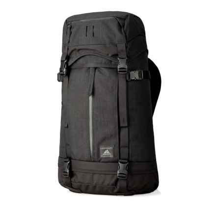Gregory Boone Overnight 47L Duffel Backpack in Ebony Black - Closeouts