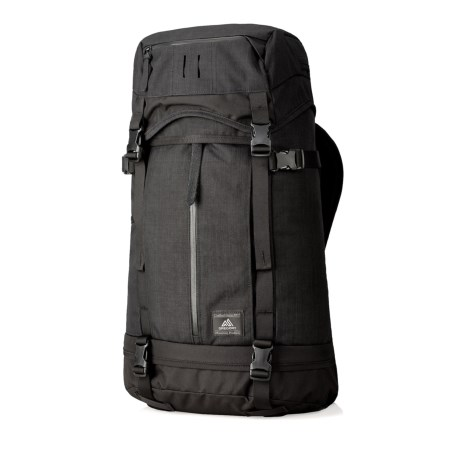 795e90d7d02c Gregory Boone Overnight 47L Duffel Backpack in Ebony Black