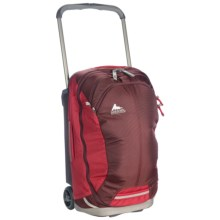 """Gregory Cache Upright Suitcase - Rolling, 22"""" in Sunset Red - Closeouts"""