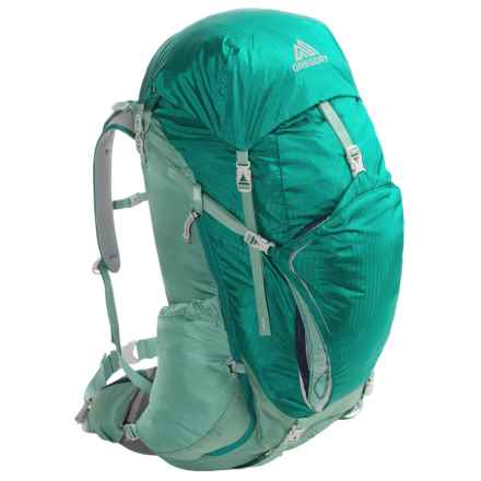Gregory Cairn 48 Backpack - Internal Frame (For Women) in Teal Green - Closeouts
