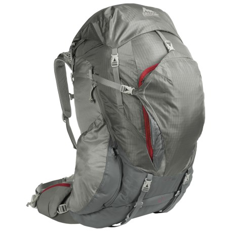 Gregory Cairn 58 Backpack - Internal Frame (For Women) in Magnetic Grey