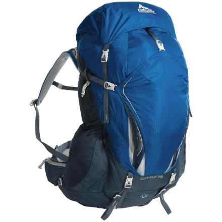Gregory Contour 70 Backpack - Internal Frame in Reflex Blue - Closeouts