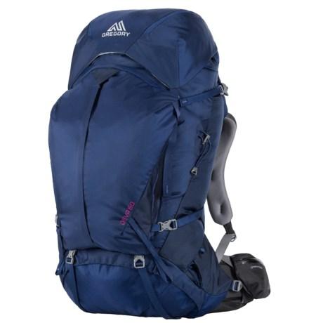 Gregory Deva 60 Backpack - Internal Frame (For Women) in Egyptian Blue