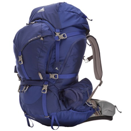 Gregory Deva 60 Backpack - Internal Frame (For Women) in Egyptian Blue