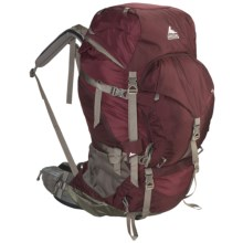 Gregory Deva 60 Backpack - Internal Frame (For Women) in Rosewood Red - Closeouts