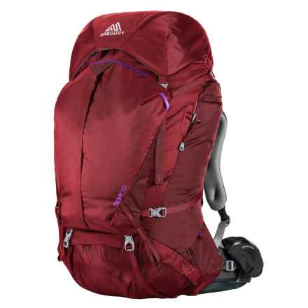 Gregory Deva 70 Backpack - Internal (For Women) in Ruby Red - Closeouts