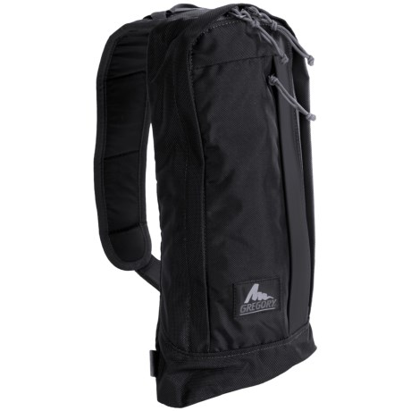Gregory Draft Backpack - 2L in Asphalt Black