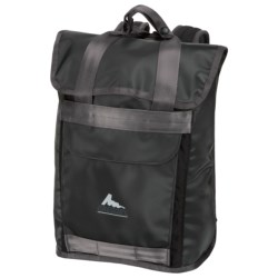 Gregory Dub Backpack in Black Tarpaulin/Black