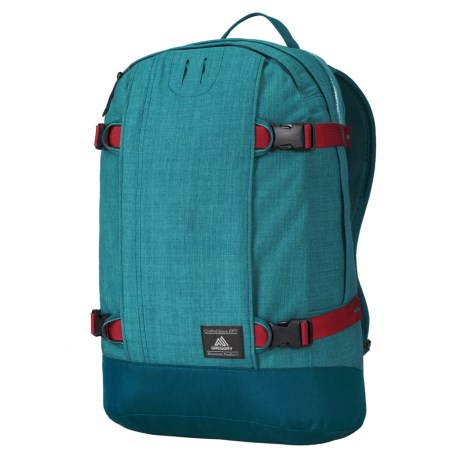 Gregory Explore Peary 22L Backpack in Topaz/Crimson