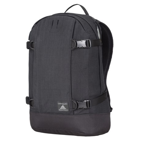 Gregory Explore Peary Backpack in Ebony Black