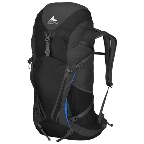 Gregory Fury 32 Backpack in Shadow Black