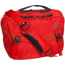 Gregory Graph 12 Messenger Bag - Laptop Pocket in Flame Red - Closeouts
