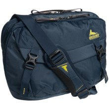 Gregory Graph 12 Messenger Bag - Laptop Pocket in Navy Blue - Closeouts