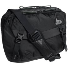 Gregory Graph 12 Messenger Bag - Laptop Pocket in Slate Black - Closeouts