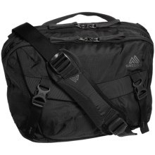 Gregory Graph 12 Messenger Bag - Laptop Pocket in True Black - Closeouts